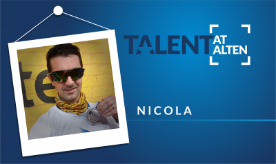 Meet Nicola, Sport Ambassador di ALTEN Italia!