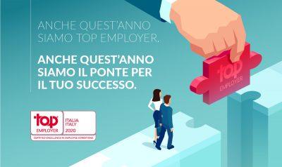 ALTEN Italia è certificata Top Employers 2020
