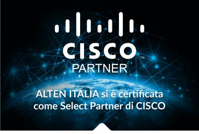 ALTEN ITALIA diventa Select Partner di CISCO